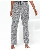 Hue Lyon Leopard Pajama Pants - Lyst