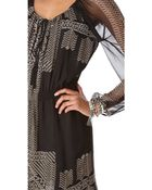 Twelfth Street Cynthia Vincent Long Sleeve Dress - Lyst