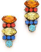 DANNIJO Tuscan Earrings - Lyst