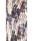 Saloni Lula Embroidered Jersey Dress - Lyst