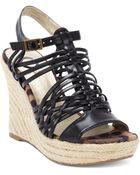 G by Guess Leeza Espadrille Platform Wedge Sandals - Lyst