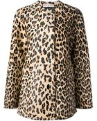 Marni Leopard Print Coat - Lyst