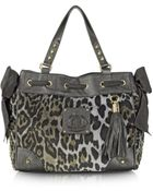 Juicy Couture Animal Printed Velour Daydreamer Tote - Lyst