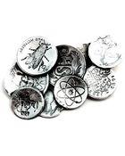 Blind Spot Jewellery Mint Brooch - Lyst