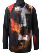 Givenchy Doberman Shirt - Lyst