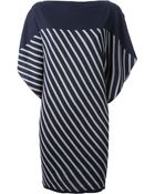 Jean Paul Gaultier Striped Jumper Dress - Lyst