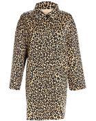 Weekend By Maxmara Lega Leopard Coat - Lyst