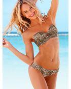 Victoria's Secret Pushup Bandeau Top - Lyst