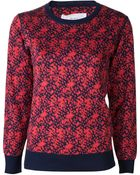 Julien David Round Neck Sweater - Lyst