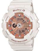 G-shock Baby G Ladies Baby-G Shock Resistant Watch - Lyst