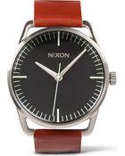 Nixon Mellor Tan Saddle Watch - Lyst