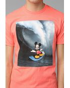 Urban Outfitters Mickey Mouse Surfing Tee - Lyst