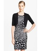 Michael Kors Merino Wool Shrug - Lyst