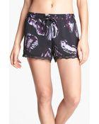 Shimera Lux Lace Sleep Shorts - Lyst