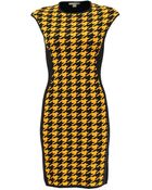 Michael Kors Merino Elite Contrast Sheath Dress - Lyst