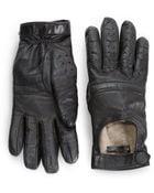 Rag & Bone Racer Woollined Leather Gloves - Lyst