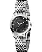 Gucci G-timeless Collection Stainless Steel Watch - Lyst