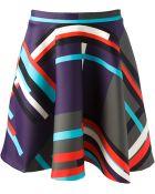 MSGM Printed Skirt - Lyst