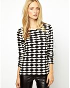 Cheap Monday Selected Bali Patterned Long Sleeve Top - Lyst