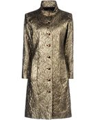 Yves Saint Laurent Rive Gauche Full-Length Jacket - Lyst