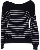 MM6 by Maison Martin Margiela Long Sleeve Sweater - Lyst