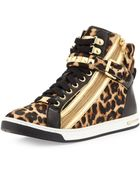 Michael Kors Glam Studded High Top - Lyst