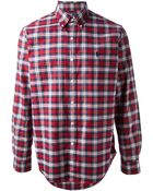 Ralph Lauren Blue Label Plaid Shirt - Lyst