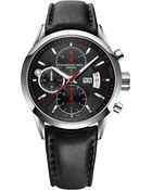 Raymond Weil Leather Strap Automatic Watch - For Men - Lyst