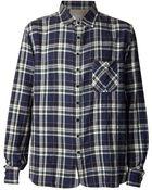 Rag & Bone Plaid Button Down Shirt - Lyst