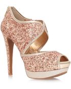 Jessica Simpson Smashh High Heel Platform Shoes - Lyst