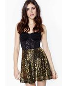 Nasty Gal Neverending Night Sequin Skirt - Lyst