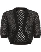 Michael Kors Sequin Knit Shrug - Lyst