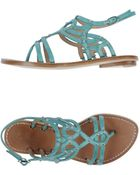 Belle By Sigerson Morrison Thong Sandal - Lyst