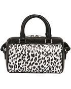 Saint Laurent Leopard Printed Leather Toy Duffle Bag - Lyst