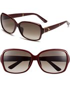 Gucci 60mm Special Fit Sunglasses - Lyst