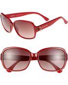 MICHAEL Michael Kors Emma 57mm Sunglasses - Lyst