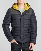 Duvetica Leonteo Wool Plaid Barrel Coat - Lyst