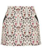 Topshop Jacquard Pelmet Skirt - Lyst