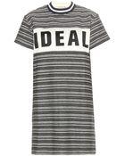 Maison Kitsuné Ideal Tweed Dress - Lyst