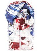 Alexander McQueen Abstract Print Scarf - Lyst