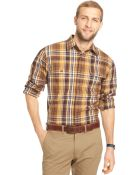 G.H. Bass & Co. G.H. Small Plaid Heavyweight Mountain Twill Shirt - Lyst