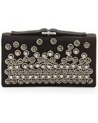 Valentino Embellished Clutch Bag - Lyst
