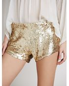 Free People Katrin Sequin Short - Lyst