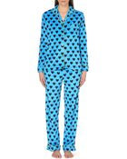 DKNY Checked Flannel Pyjama Set - For Women - Lyst