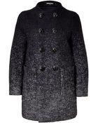 DSquared² Wool Herringbone Color Fade Coat - Lyst