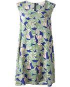 L'Autre Chose Printed Dress - Lyst
