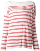 Rag & Bone Striped Pullover - Lyst