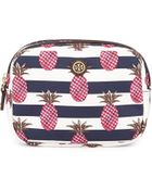 Tory Burch Printed Nylon Small Double Cosmetic Case - Lyst