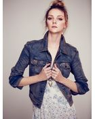 Free People Love Always Fp Denim Jacket - Lyst