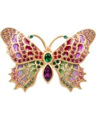 Jay Strongwater Irie Embellished Butterfly Pin - Lyst